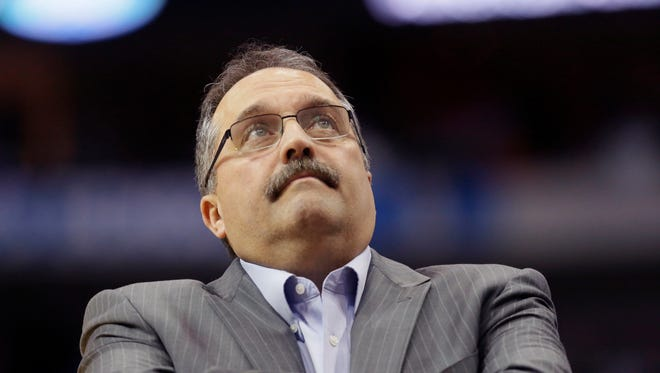 President Stan Van Gundy: The roster looked fine after last season and the additions of Jon Leuer, Ish Smith and Boban Marjanovic were not blockbuster deals, but they've paid off at different junctures of the season first half. GRADE: B+