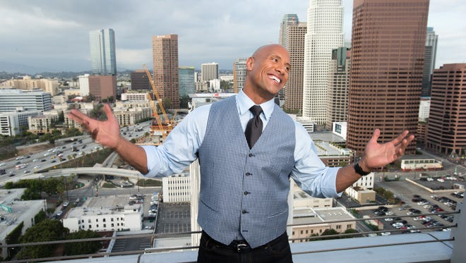 It's Dwayne Johnson's world in 2016. We just live in it and watch his movies.