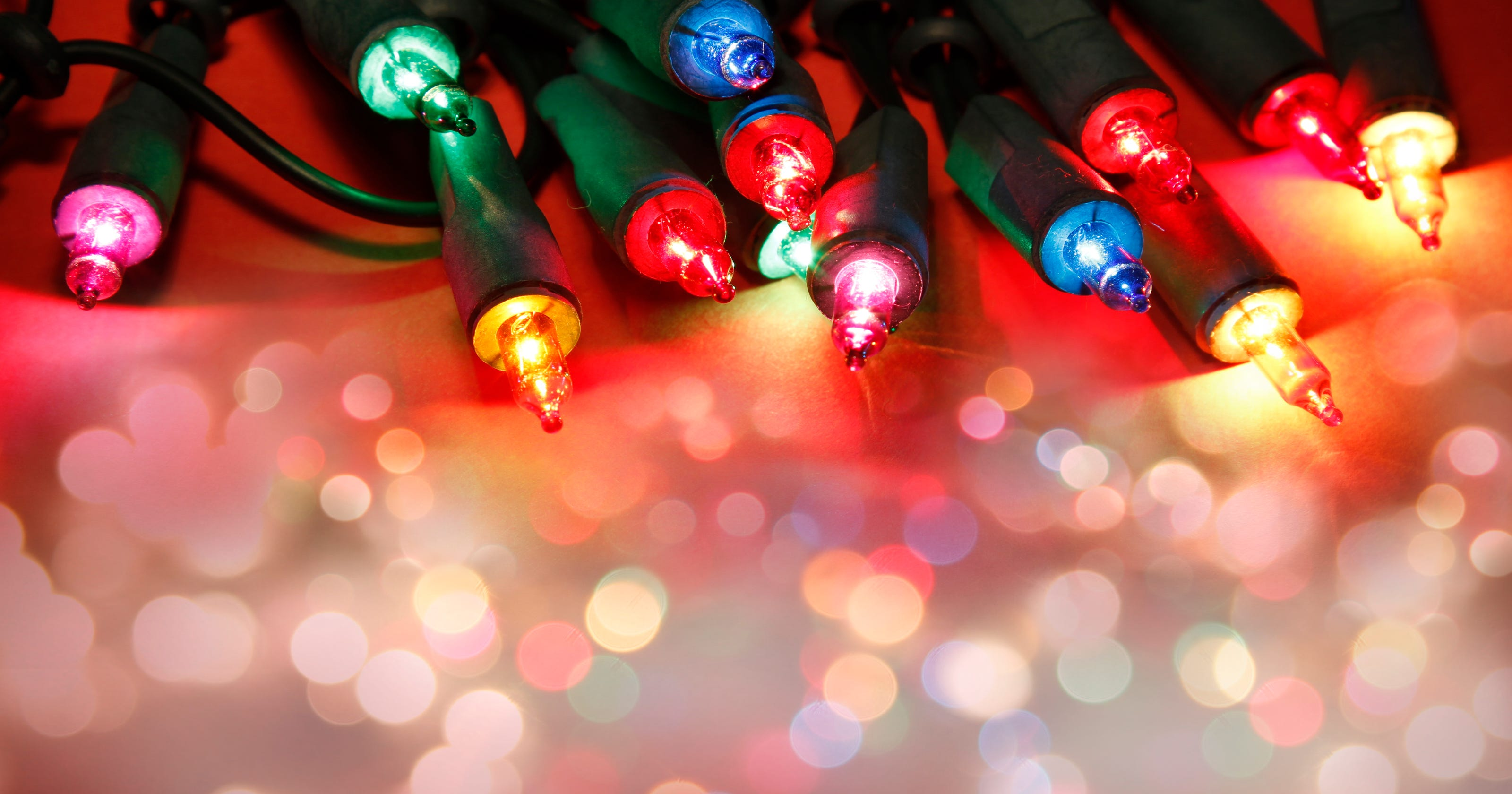 The real war on Christmas: White lights vs. multi-colored ...