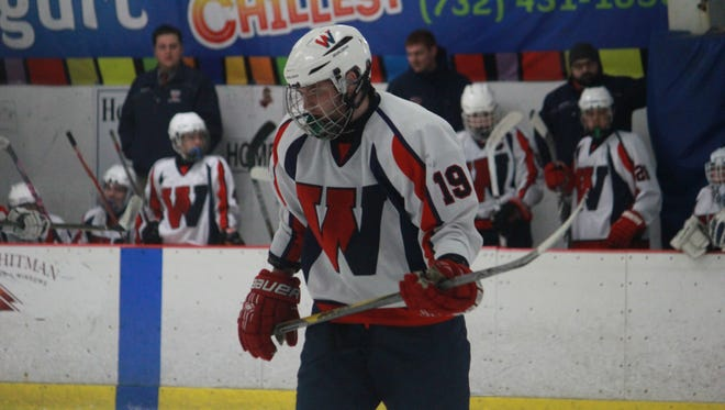 Shane Haviland (19) of Wall Township had an incredible season debut in Wall's 7-2 win over Rumson on Friday.