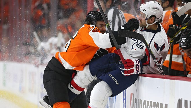 The Flyers and Capitals will renew a rivalry for the first time this season. Washington ended Philly's season in the playoffs in April.