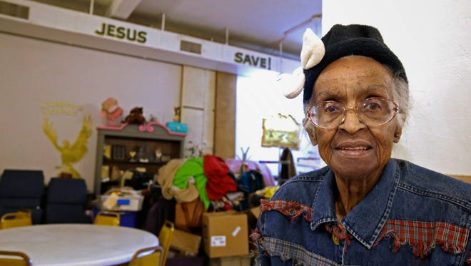 """Naomi Scott known as """"Mother Scott"""" helped run the Scott Christian Youth Center, which has had a soup kitchen for decades as well as offering church services and supporting those in need."""