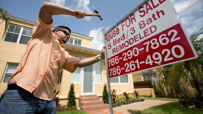 Home sales are expected to increase modestly next year.