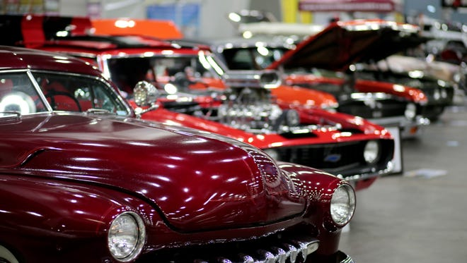 The annual KOI/Federated Auto Parts Cavalcade of Customs happens this weekend at Duke Energy Convention Center in downtown Cincinnati.
