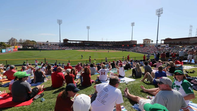 The Phillies' spring training ballpark and the home of the High-A Clearwater Threshers has been renamed from Bright House Field to Spectrum Field.