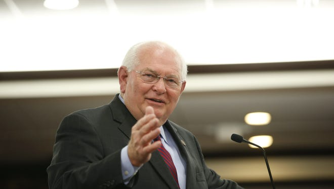 Sen. Bill Montford leads the Leon delelgation to the Florida Legislature. Montford was first elected in 2010 and is chair of the  Senate Commerce and Tourism Committee.