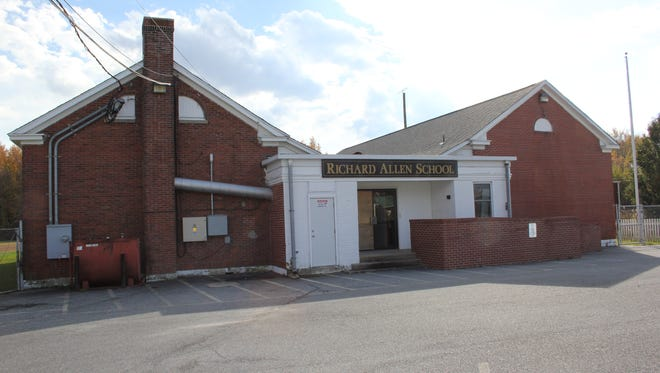 The Richard Allen School in Georgetown served grades one through six. When it opened in the 1920s, it replaced a primitive all-black school in the Prospect AME Church.