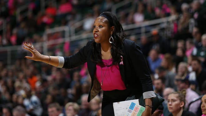 A playing career derailed by injuries led MSU interim coach Amaka Agugua to the sidelines.