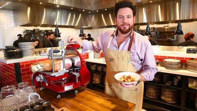 Chef Scott Conant at his new restaurant, Mora Italian on Jan. 22, 2017 in Phoenix, Arizona.