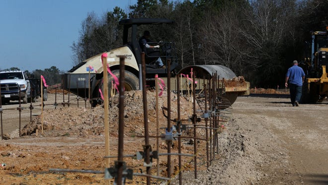 """Hundreds of acres are tapped for development that will include homes, businesses, an assisted living facility, a new I-10 interchange. The first area slated for development is in the """"heel"""" of Welaunee, roughly 50 acres of land closest to Capital Circle."""