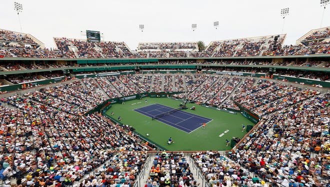 It's unclear how President Trump's immigration restrictions may affect the BNP Paribas Open in March.