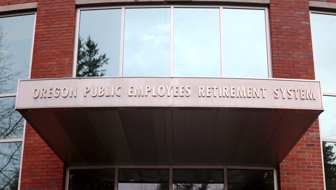 The Public Employees Retirement System (PERS) building in Tigard.