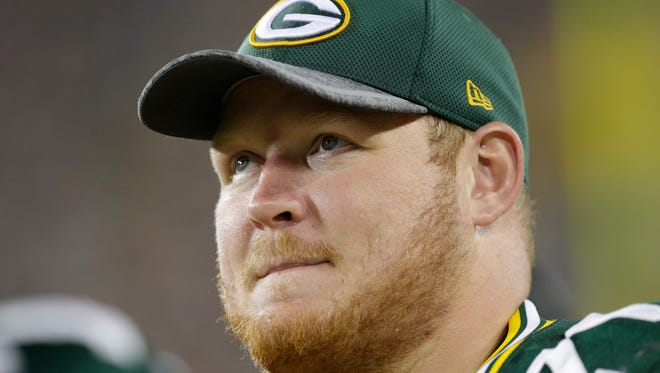T.J. Lang has been a starter since 2011 and becomes an unrestricted free agent next month. He has been bothered by injuries, including a broken foot this season.