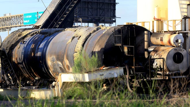 Jose de la Torre, 53, is killed when a diesel tank explodes at the Haas-Anderson Construction asphalt plant on Hopkins Road on Sept. 14, 2016.