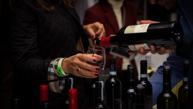 """Sample some of the 150 wines available at the """"New Jersey Winter Wine Festival"""" on Feb. 24."""