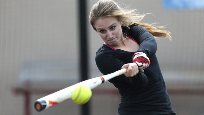 Incarnate Word Academy softball player Mary Buhidar will return to catch for the Angels this season.