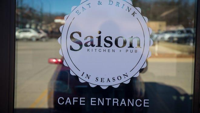 Chef David Baruthio's newest venture, Saison Kitchen + Pub in Windsor Heights, Wednesday, Feb. 22, 2017.