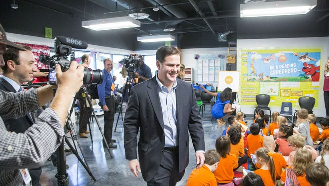 Ducey intended his teacher raise proposal as a sweetener. Instead, it is being depicted as all he thinks teachers should get.