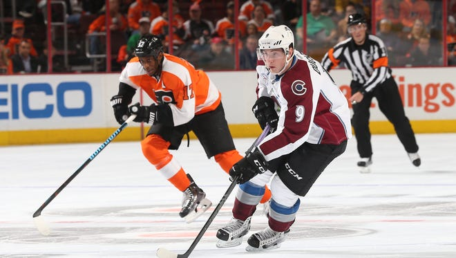 Matt Duchene, one of the most coveted pieces at the trade deadline, visits the Flyers Tuesday.
