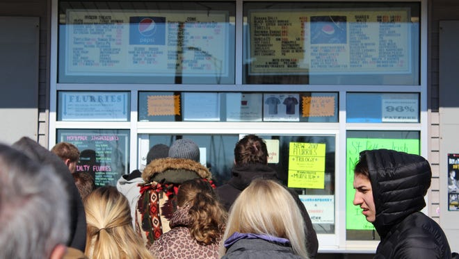 Belts' Soft Serve opened for business Friday morning for a 37th season in Stevens Point.