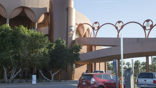 The addition of elevators (for accessibility) and bathrooms required expansions to ASU Gammage that change the face and add to the footprint of the building.
