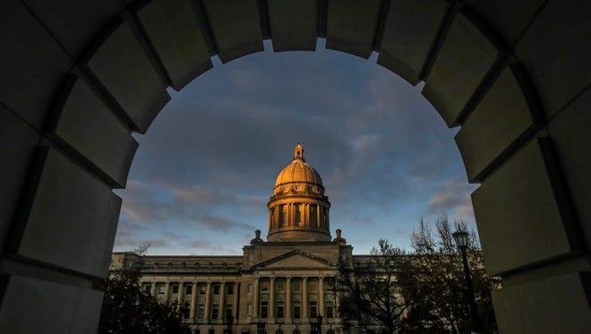 Kentucky Capitol.January 6, 2017