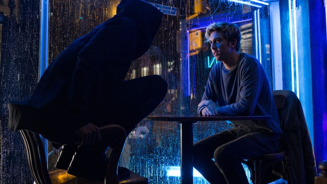 Lakeith Stanfield and Nat Wolff in Netflix's 'Death Note.'