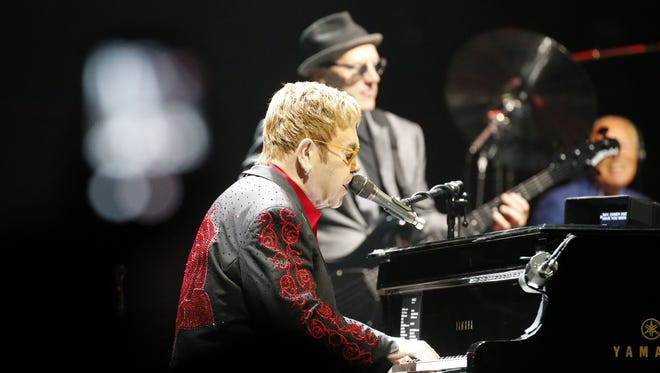 Elton John at the Don Haskins Center