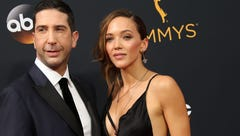 David Schwimmer and Zoe Buckman announce break