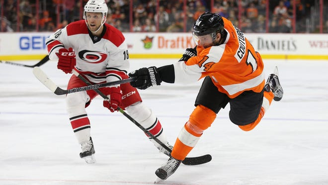 Sean Couturier and the Flyers will have their season come to an end Sunday.