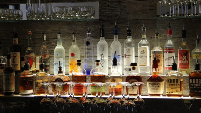 The bar at Amadeus features craft cocktails with fresh-made juices, as well as discounted happy-hour drinks.