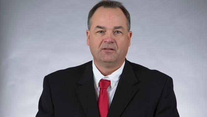 New University of Cincinnati offensive coordinator/quarterbacks coach Mike Denbrock comes to the Bearcats from Notre Dame.