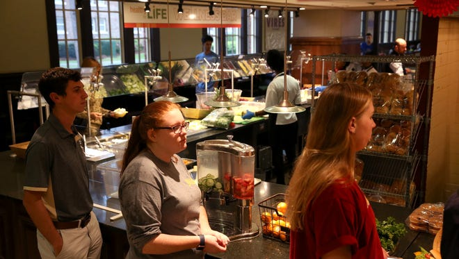 FSU's Suwannee Room, changed its service provider from Aramark food facilities, to Sodexo, and currently back to Aramark.