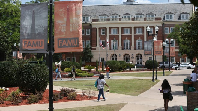 Recruitment efforts are paying off for Florida A&M University with a nearly 40 percent increase in the number of freshmen admitted for the fall 2017.