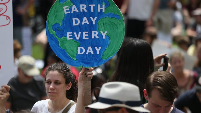 Flashback to 2017: Thousands of people gathered together at the Historic Capitol building downtown Saturday in a March for Science, part of a world-wide demonstration on Earth Day to promote the idea of scientific study and its relevance in society.