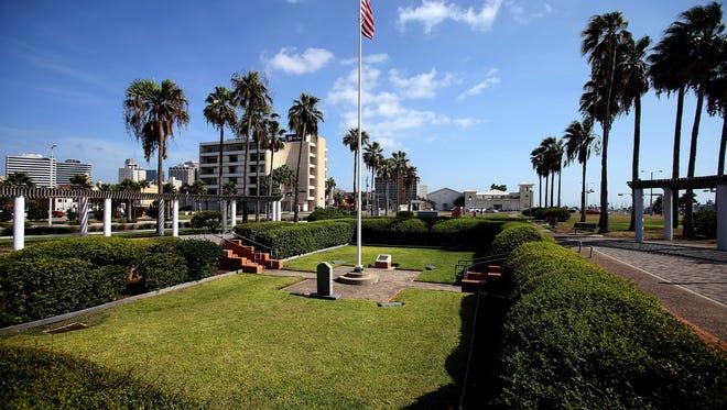 GABE HERNANDEZ/CALLER-TIMES Sherrill Park, an area dedicated to recognizing veterans' service, will likely be renamed Sherrill Veterans Memorial Park.