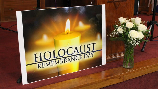 Emanuel Jacob Congregation and Sar Shalom Messianic Congregation both hosted Holocaust Remembrance Day services this week. This year's day was observed on Monday, April 24, 2017.