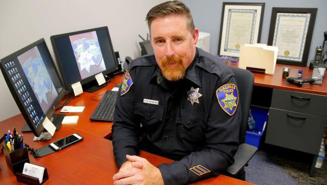 Salinas Police Officer Todd Kessler
