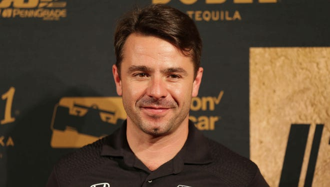 Indy Car Driver Oriol Servia walks the red carpet during the 2016 MAXIM Indy 500 Party, held at The Pavilion at Pan Am in Indianapolis, Saturday May 27th, 2016.