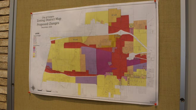 Ontario rezoning map