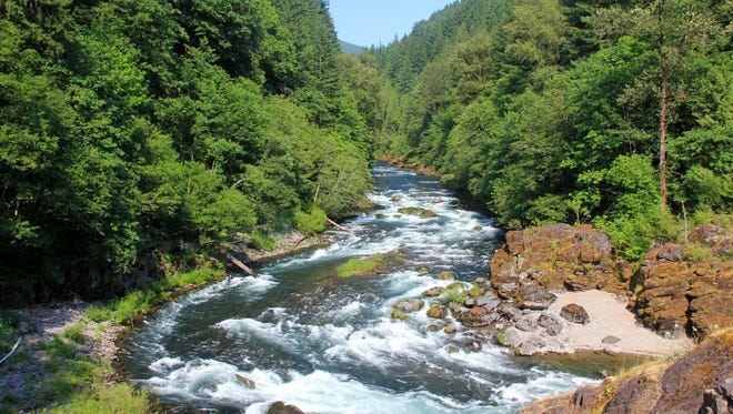 The North Santiam River is running higher than normal this spring, making boating and swimming treacherous.