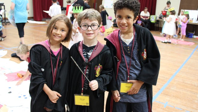 Elementary Music Campers are wizards for a day!