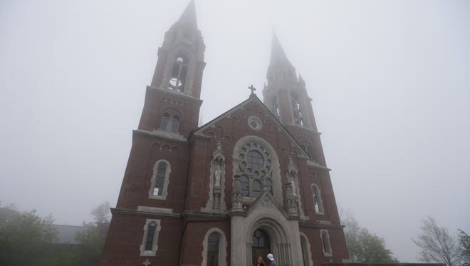 Holy Hill is perched on the highest point in southeastern Wisconsin and will provide a backdrop for the U.S. Open at Erin Hills.