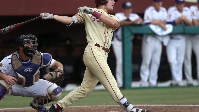 Junior left fielder Jackson Lueck leads Florida State's dangerous lineup into the 2018 season.