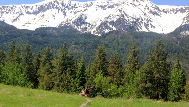 Two environmental groups have sued over a plan to log in a popular area in the Wallowa Mountains.