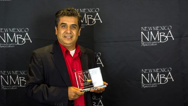 KRWG's Edmundo Resendez was honored with the Excellence in Broadcasting award by the New Mexico Broadcasters Association for his work on The Tamale Confidential.