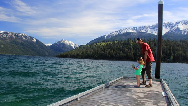 Eastern Oregon's Wallowa Lake is a scenic outdoor recreation destination.