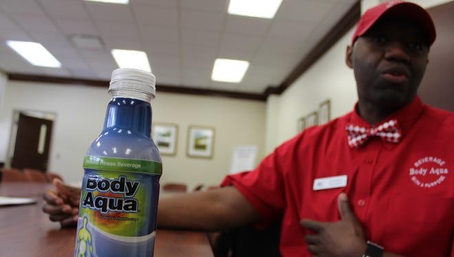 Sherman Williams' product is Body Aqua, a health drink that increases metabolism. It is currently sold in  the southeastern Whole Foods region (not including Florida).