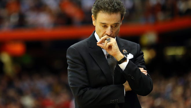 Rick Pitino was fired as Louisville's head basketball coach this week.