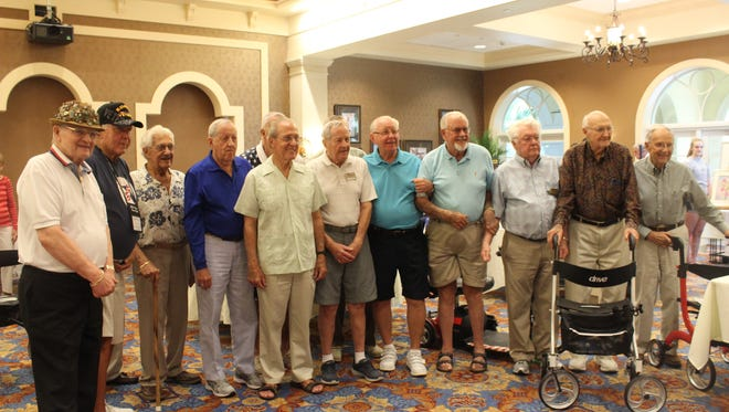 """""""Men of the Terraces,"""" a storytelling expo, brought together 14 residents of The Terraces, a senior-living community in Bonita Springs."""